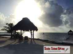 Good morning everyone from the beautiful island of Belize.  #belize #padi #scubaschoolbelize #scubadiving
