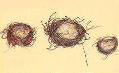 Bird's Nest sketch - 3/29/14 - esolomon
