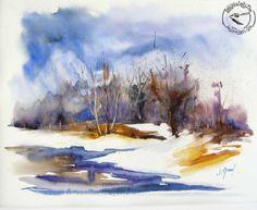 Josette Marrel - Mükemmel Suluboya Çalışmaları - Resimkalemi Forum - Sanatçının Renkli Dünyasi