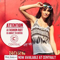 Sale alert at Central Mall - Fashion Riot #Client #ClientWork #Clientele #WorkPortfolio #Clothing #WomenFashion #Fashion #Lifestyle #MenFashion #Shopping #Sale #Promotion #DigitalAdvertising #SocialMedia #DigitalMedia #Digital #DigitalMarketing #Design #Agency #AdAgency #AgencyLife #AgencyWork #3WM #Mumbai #India Competitor Analysis, Sale Promotion, Design Agency, Digital Media, Mumbai, Mall, Digital Marketing, India, Mens Fashion