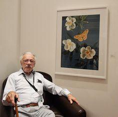 Dr. John Cody at the 2012 GNSI Members Exhibit