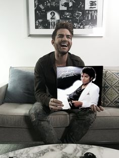 Every Wednesday we are celebrating your music collections with Whether it is vinyl, CDs, ticket stubs, or memorabilia, share your story using and you could be featured right here! Beautiful Inside And Out, He's Beautiful, Adam Lambert, Rocky Horror Show, Big Star, Warner Bros, My Dad, Thriller, Idol