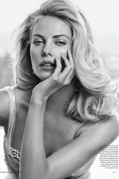 Wow...Charlize Theron in British Vogue May 2012
