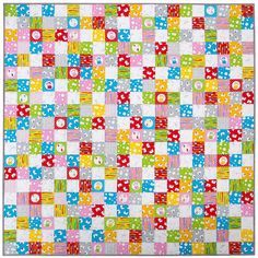 The Cat's Pyjamas Quilt and a Fabric Giveaway!