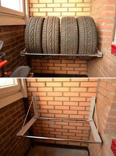 Сезонное хранение шин. Кладовая