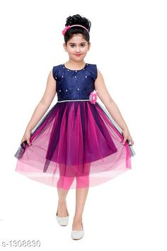 Checkout this latest Frocks & Dresses Product Name: * Amazing Kids Girls Dress* Sizes: 2-3 Years, 3-4 Years, 4-5 Years, 5-6 Years, 6-7 Years, 7-8 Years Country of Origin: India Easy Returns Available In Case Of Any Issue   Catalog Rating: ★4.2 (4386)  Catalog Name: Ravishing Kids Girls Dresses Vol 1 CatalogID_167228 C62-SC1141 Code: 842-1308830-645