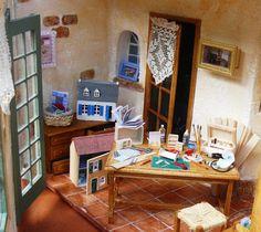 L'atelier de miniaturiste d'Infimini