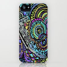 Ages of Aquarius iPhone & iPod Case by Rokin Art by RokinRonda - $35.00