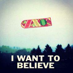 I'm a believer.