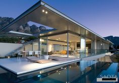 Minimalist houses Cape Town South Africa