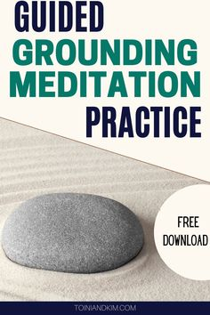 Find your zen with this free guided grounding meditation practice. Grounding Meditation, Meditation Benefits, Meditation Practices, Mindfulness Meditation, Guided Meditation, Self Healing, Emotional Healing, Psychic Development, Personal Development