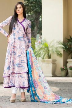 Pregnancy wear Pakistan loose wrap lawn linen shirt.