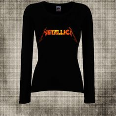 Women T-Shirt METALLICA 11 Heavy Metal Hard  Rock  by kalipcio