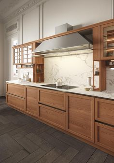 HERITAGEu0027s Exclusive Elm Wood Framed Kitchen Door Cabinets Are A Clever  Combination Of Traditional Design And Fine Modern Cabinetry Techniques