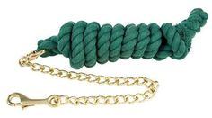 Roma Cotton Lead With Chain - Hunter Green by Roma F.C.. $9.40. Roma Brand Quality. Products made from the finest materials with a complete line horse. Depend on Roma products for great quality and price.