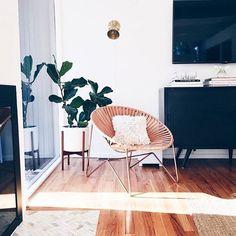 The Citizenry - Aldama Chair Home Design, Home Living Room, Living Spaces, Home Interior, Interior Design, Interior Styling, Piece A Vivre, Home And Deco, Cozy Living