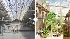 EN IMAGES - En plein cœur du XIe arrondissement de Paris, un ancien garage, propriété de Renault depuis près de 60 ans, laissera place à un complexe d'habitations et de commerces. Visite guidée en images. Garage, Place, Paris, Arrondissement, Images, Real Estate, Carport Garage, Montmartre Paris, Garages