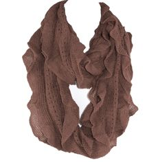 Elegant Black Soft Woven Infinity Loop Figure Eight Endless Scarf Wrap   One of the popular items of this season, the Infinity Scarf is an easy wrap for a cool evening or a great color accent.. Elegant wrap for a cool evening or a color accent, our Shawl Scarf Wrap is made of wool blended with viscose. Unique understated woven ruffle design pattern allows to wear it as a scarf over you  sweater or suit, a luxurious addition to an evening dress, or just the classic light w...