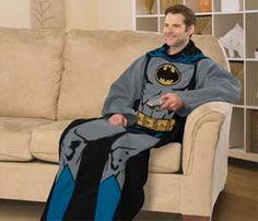 Batman Snuggie Blanket - I think I know what I want for my birthday