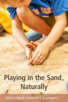 The beauty of sand is that it's one of the few manipulatives that truly allow children to explore their imaginations, it's a material found almost everywhere on earth, and children love playing in it. But look at all the others things they learn on their own, without a teacher, just by playing in a pile of sand! Read more...