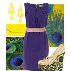 """""""Peacock"""" by coombsie24 on Polyvore"""