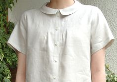 blouse with small tucks pattern