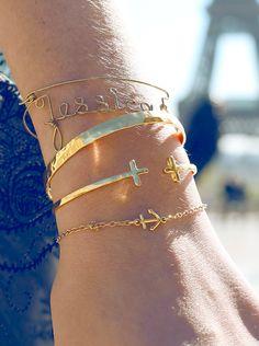 little anchor bracelet