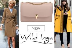 Nude shoulder bag in shades of nude for office and elegant outfits @comenziwildinga