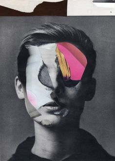 Abstract Paper Collages Portraits by Charles Scott Wilkin Face Collage, Collage Portrait, Collage Art, Abstract Art Images, Abstract Paper, Collages, Minimal Photography, Art Photography, Photo Vintage