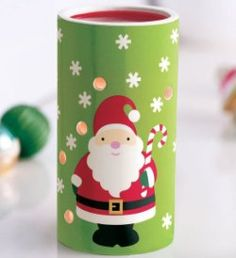 """Jolly Santa Aroma Melts™ Warmer - Merry way to add long-lasting fragrance to your holiday home. Decal on ceramic. 5 3/4"""" h, 3 3/4"""" w. Price: $19.95 each NOW ONLY$6.00 each"""