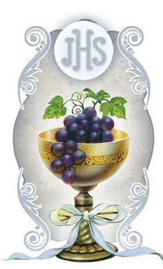 Representación de Jesus sacramentado sus siglas JHS