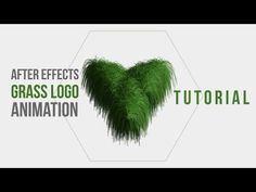 After effects grass logo animation tutorial - YouTube