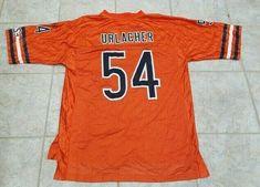 d57cc0039 Details about Chicago Bears Brian Urlacher Reebok NFL On Field Orange Jersey  Size L NWOT RARE