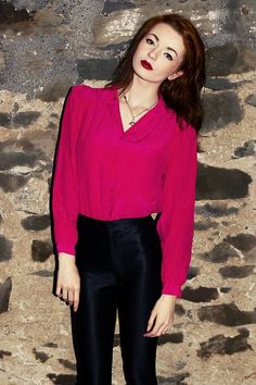 Pretty In Pink.      Pink (by Hannah Louise) http://lookbook.nu/look/3867610-Pink