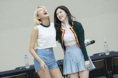 PRISTIN ♡ YuHa 유하 (Kang KyungWon 강경원) & Xiyeon • Park SiYeon 박시연 (Park JungHyeon 박정현)