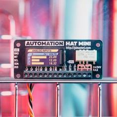 Automate your world with Automation HAT Mini! Monitor and control up to systems and see their status on the gorgeous full-colour display Arcade, Home Automation Project, Hobby Electronics, Humidity Sensor, Usb, Mini Photo, Lighting System, The Fool, Raspberry