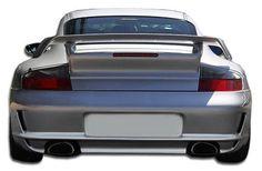 Duraflex 99-04 Porsche 996 C2 C4 997 GT-3 RS Conv. Rear Bumper Cover