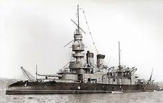 French coast defense pre dreadnought battleship Jemmapes