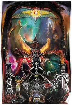 'The Arcane Conception' Poster by Mitchell Nolte Symbolic Art, Satanic Art, Aleister Crowley, Spiritus, Occult Art, Religious Images, Cool Paintings, Dark Art, Magick