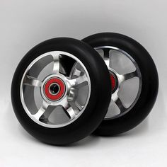 2Pcs Scooter Wheel Accessory Replacement for Children Electric Ski Skate Board