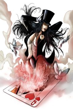 Zatanna   #comics