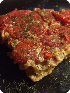 Godiche ! » Tarte tomates cerises, chèvre & miel