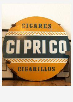 Ciprico Cigares by #Typoria #Berlin