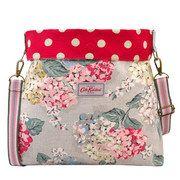 Hydrangea Reversible Folded Messenger Bag