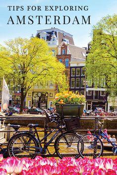 Tips for traveling to Amsterdam #Amsterdam #vacationinAmsterdam