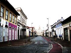 Rua XV de Novembro - Amparo/SP, Brasil    15th November Street - Amparo/SP, Brazil