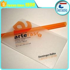 Plastic mirror business card manufacturers rfid pinterest reheart Choice Image