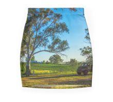 Bullock Creek Vineyard - Bendigo, Victoria Pencil Skirt