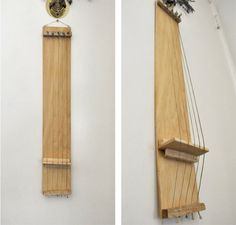 I made a door harp! Used old guitar strings wood and nails. It & Door Harps | Wish list (Anh) | Pinterest | Doors Woods and Woodworking