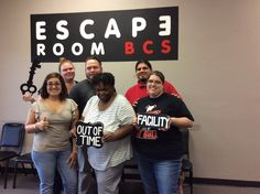 This group got trapped in Dr. Andrews' lab!